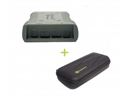 RidgeMonkey: Powerbanka Vault C-Smart Wireless 26950mAh Green + GorillaBox 295 ZDARMA!