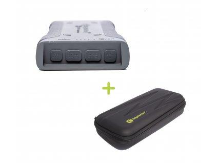 RidgeMonkey: Powerbanka Vault C-Smart Wireless 26950mAh Grey + GorillaBox 295 ZDARMA!