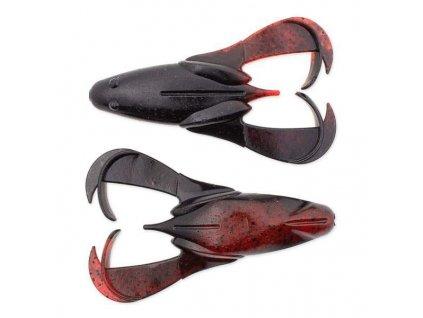"Keitech: Gumová nástraha Noisy Flapper 3,5"" 8,9cm 16,3g Black Red Berry 5ks"