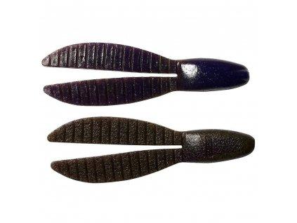 "Keitech: Gumová nástraha Flex Chunk 4"" 10,2cm 13,5g Brown Purple 5ks"