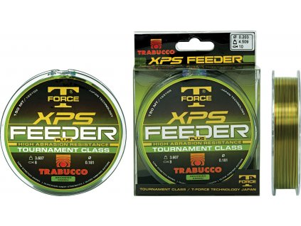 Trabucco vlasec XPS FEEDER PLUS 150m (Varianta 0,18mm - 3.607kg)