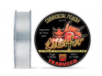 Trabucco vlasec T-Force LUCIFER 50m (Varianta 0,10mm)