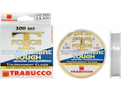 Trabucco vlasec T-Force Tournament Tough 300m (Varianta 0,106mm)