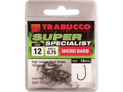 Trabucco háčky Super Specialist 15ks (Varianta vel. 8)
