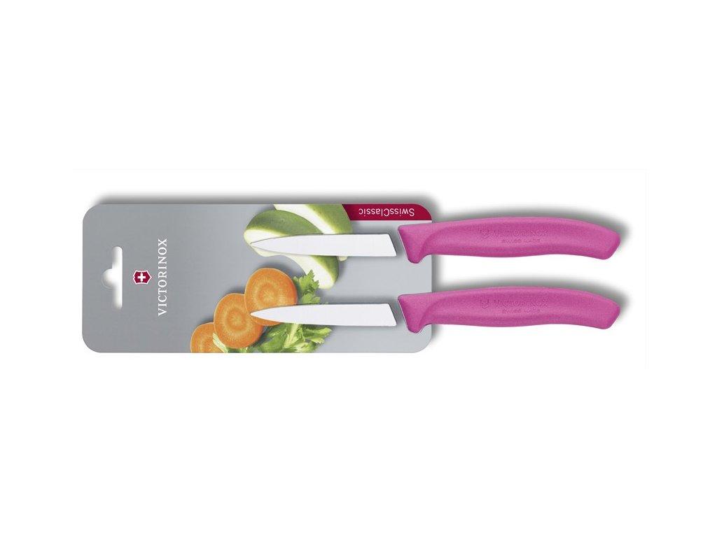 Victorinox 6.7606.L115B SwissClassic Súprava nožov s hladkou čepeľou 2-dielna