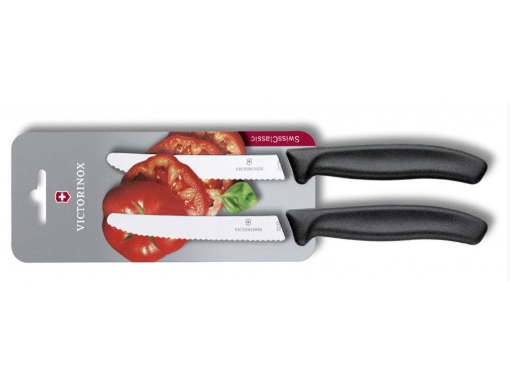 Victorinox 6.7833.B SwissClassic Súprava nožov na paradajky 2-dielna