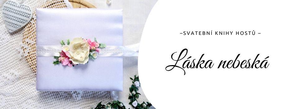 Rozkvetlá alba: svatební knihy hostů