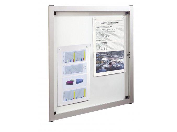 Domovní nehořlavá vitrína MEDIA 9xA4 - výhodná cena