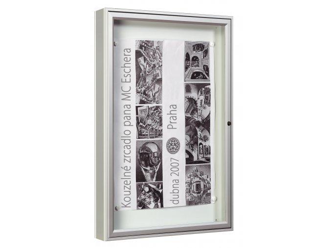 """Vitrína venkovní """"1000"""" - 12xA4 sklo"""