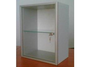 Vitrína prezentační na poháry 70x70cm hl.15