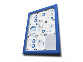 Vitrína venkovni SCT27xA4PHC5010 27xA4 modrá