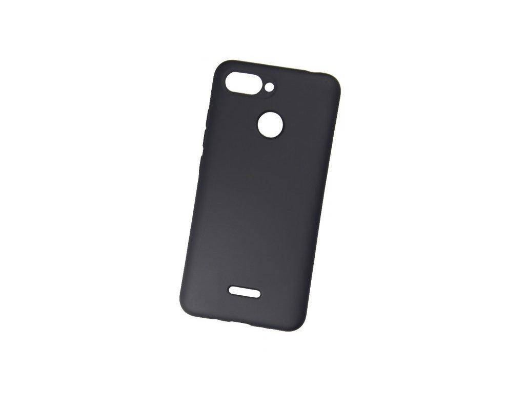 Pouzdro Redpoint Smart Magnetic Samsung J4+ Black, s kovovou destičkou