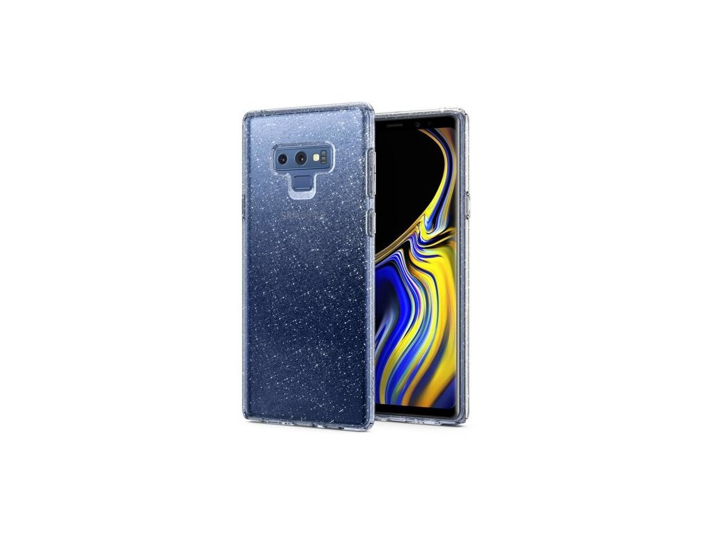 Samsung Galaxy Note 9 N960, obal na mobil Spigen Liquid Crystal.