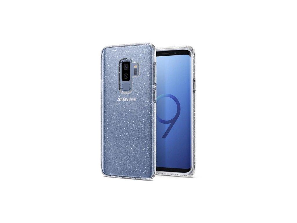 Pouzdro Spigen Liquid Crystal pro Samsung Galaxy S9 Plus Glitter Crystal Quartz