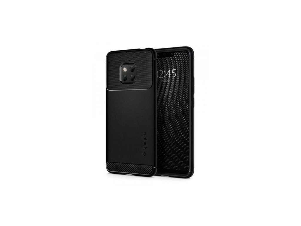 Pouzdro Spigen Rugged Armor Huawei Mate 20 Pro, černé