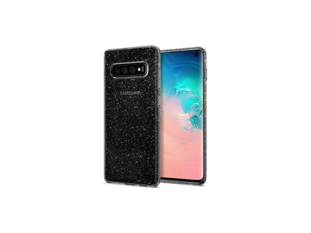 Pouzdro Spigen Liquid Crystal Samsung Galaxy S10 Glitter Crystal