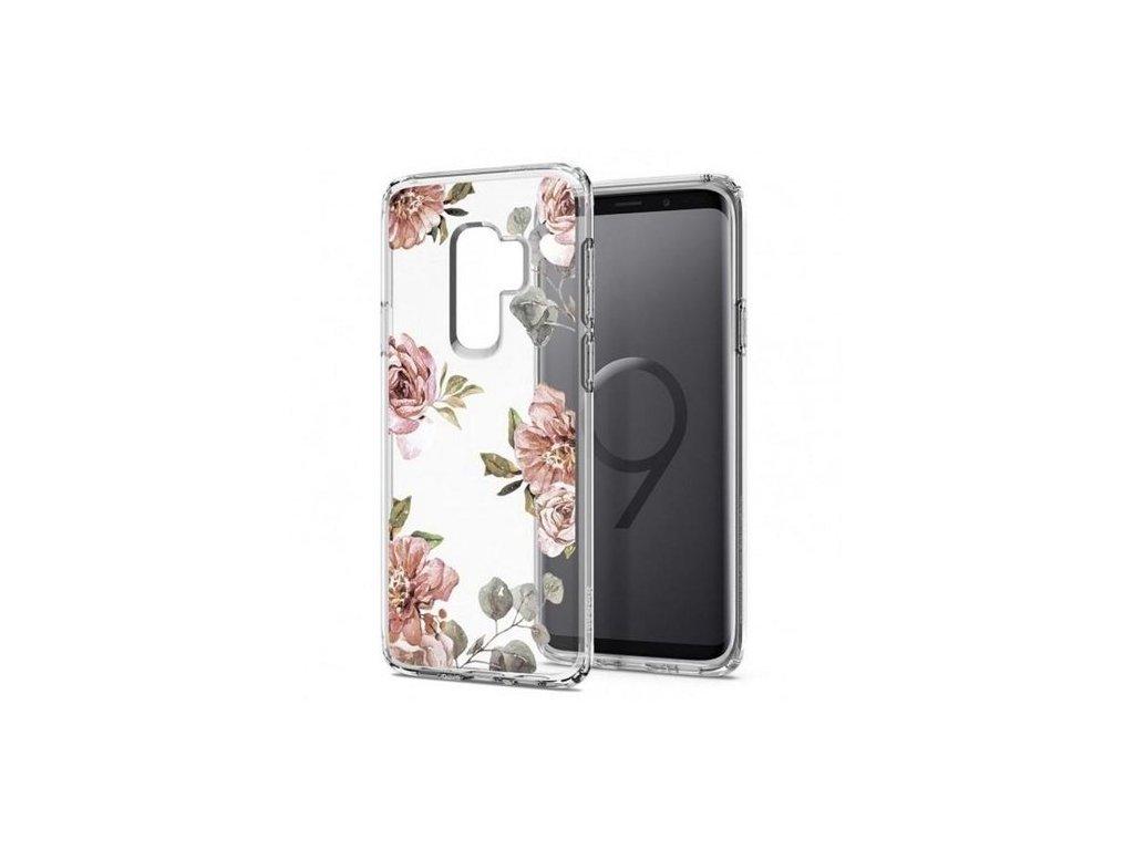 Spigen Liquid Crystal pouzdro Samsung Galaxy s9  Plus Blossom Flower