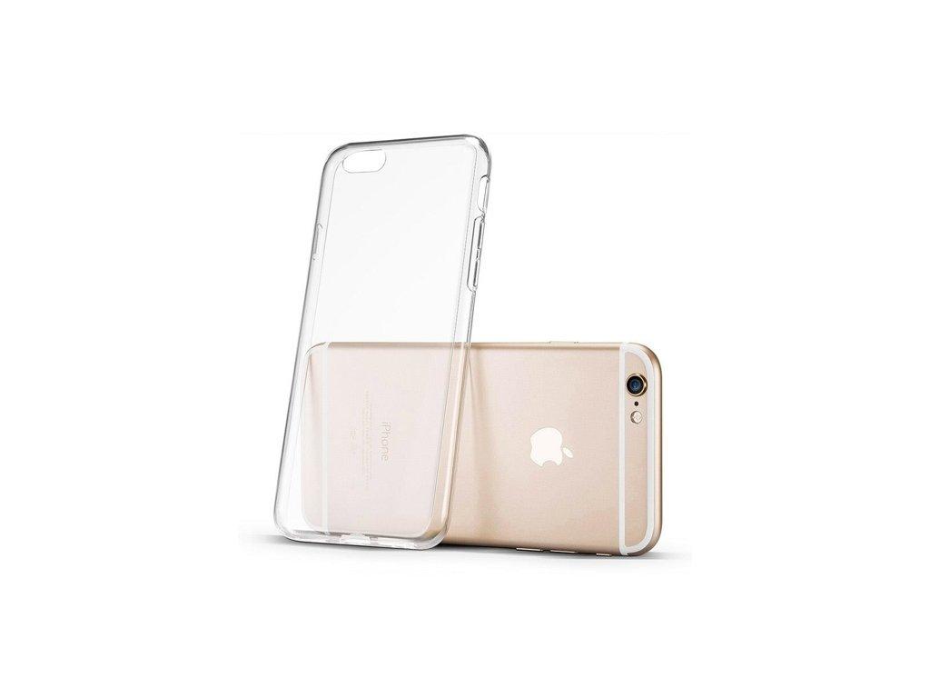 Silikonové pouzdro TPU pro iPhone 6S / 6, transparentní