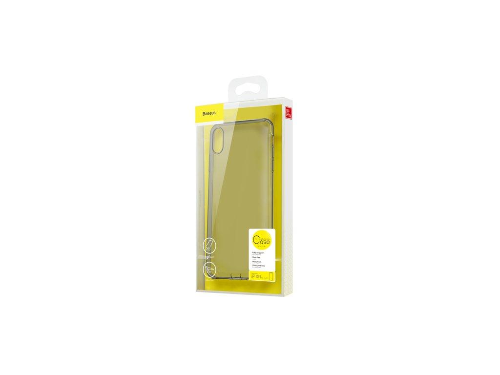 BASEUS Simplicity Series gelový ochranný kryt pro iPhone XR, čirý