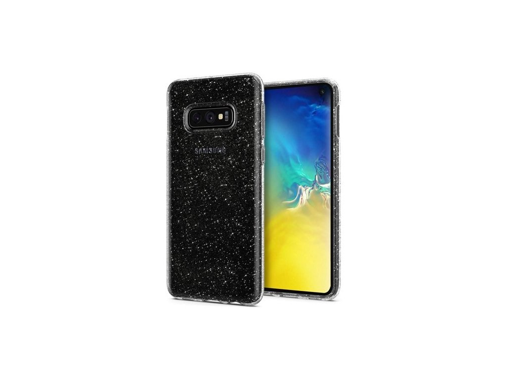 Pouzdro Spigen Liquid Crystal pro Samsung Galaxy S10e Glitter Crystal