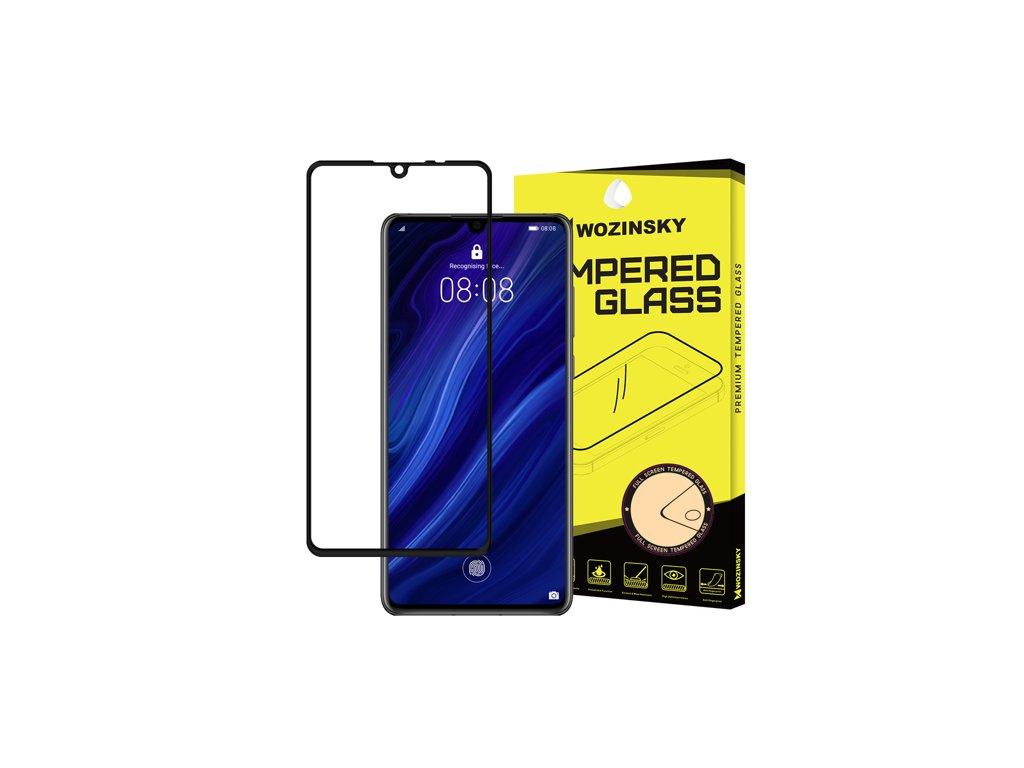 Wozinsky tvrzené sklo pro Huawei P30, černá