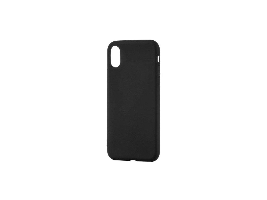 Soft Matt TPU silikonové pouzdro pro Xiaomi Redmi Note 8, černý