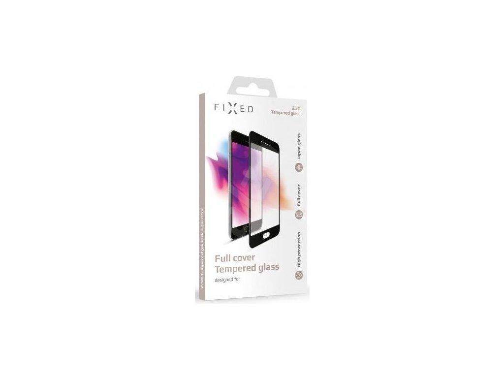 Ochranné tvrzené sklo FIXED Full-Cover pro Huawei Nova 3, přes celý displej, černé, 0.33 mm