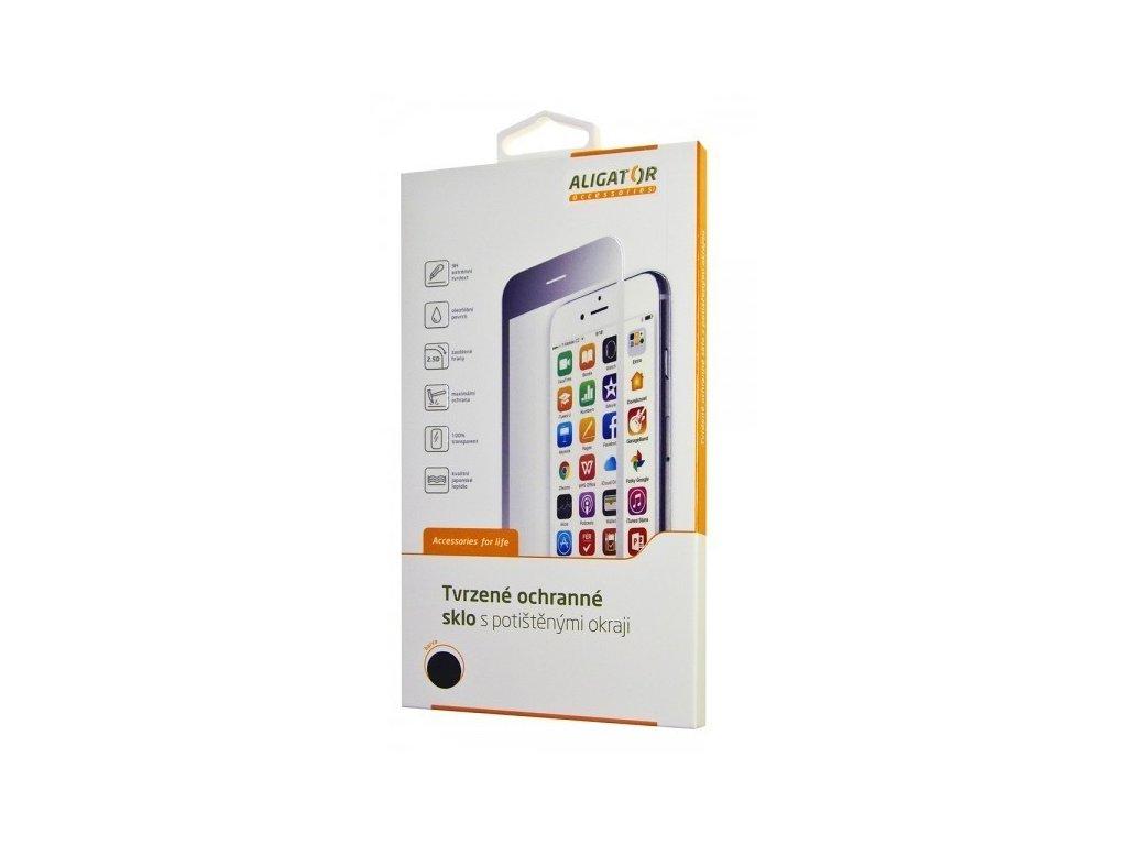 Ochrana displeje GLASS PRINT Samsung A71, černá