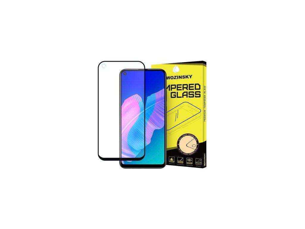 pol ps Wozinsky super wytrzymale szklo hartowane Full Glue na caly ekran z ramka Case Friendly Huawei P40 Lite E czarny 59634 1