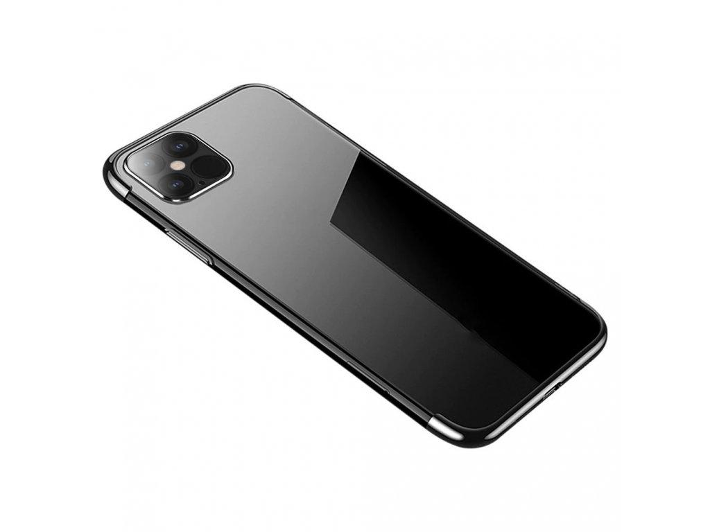 Silikonové pouzdro pro iPhone 12 Pro Max, černé