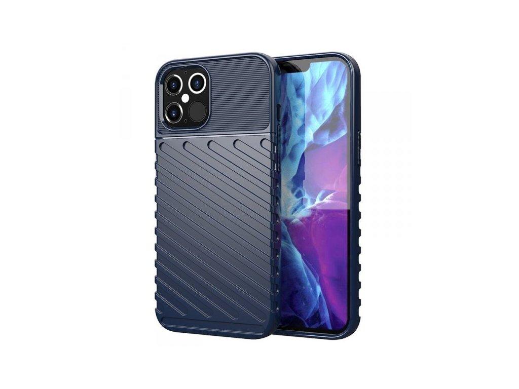 Ochranné pouzdro pro iPhone 12 Pro Max, modré - Thunder
