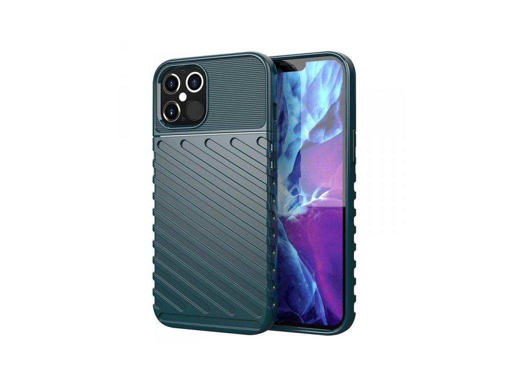 Ochranné pouzdro pro iPhone 12 Pro Max, zelené - Thunder