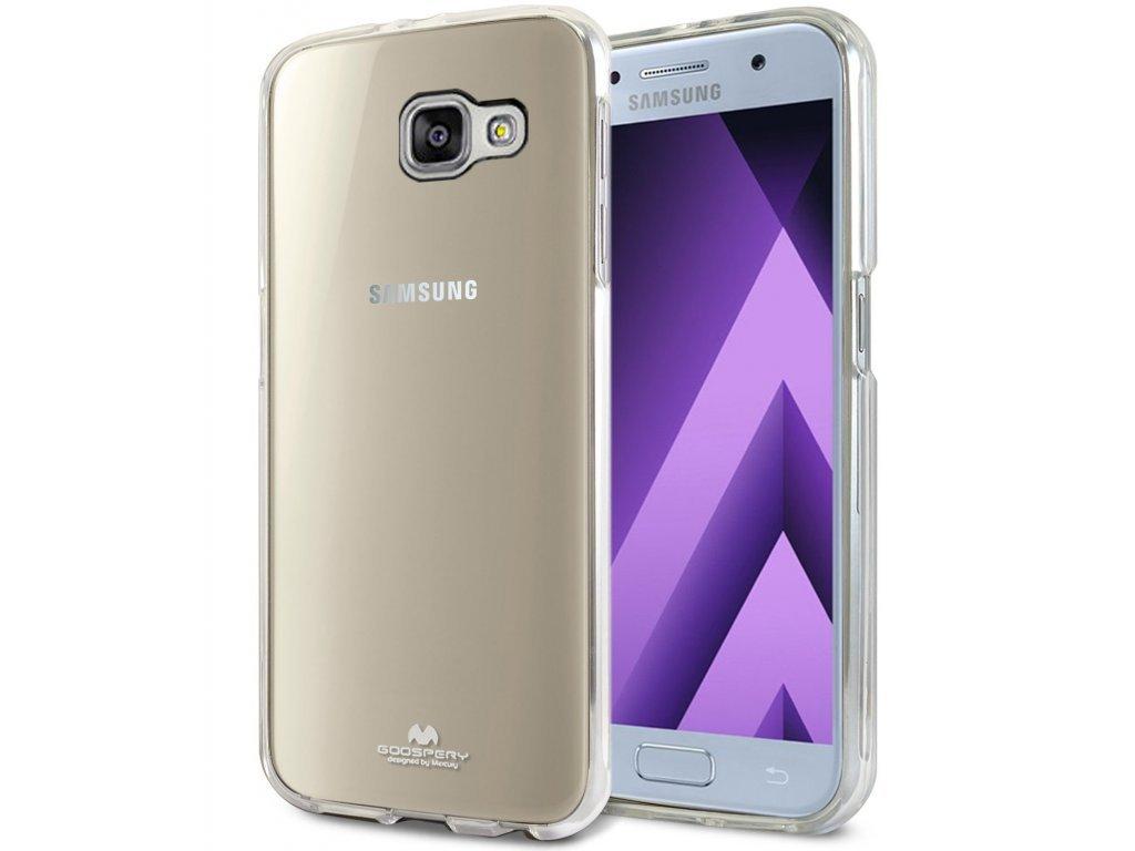 Pouzdro / kryt pro Samsung Galaxy A3 (2017) A320 - Mercury, Jelly, průhledný