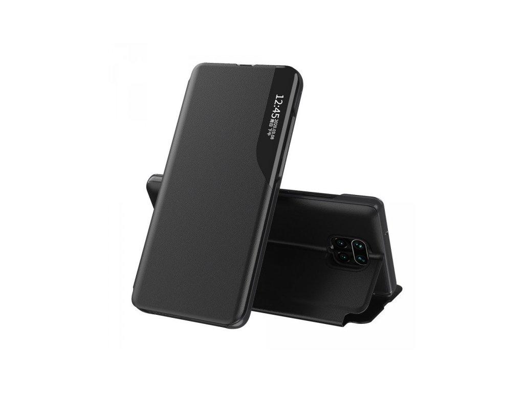 Flipové pouzdro pro Xiaomi Redmi Note 9 Pro / Note 9S černé, Eco Leather View Case