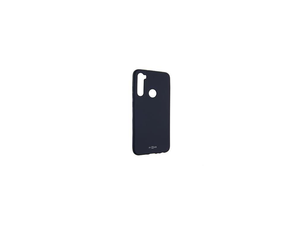 Zadní pogumovaný kryt FIXED Story pro Xiaomi Redmi Note 8T, modrý