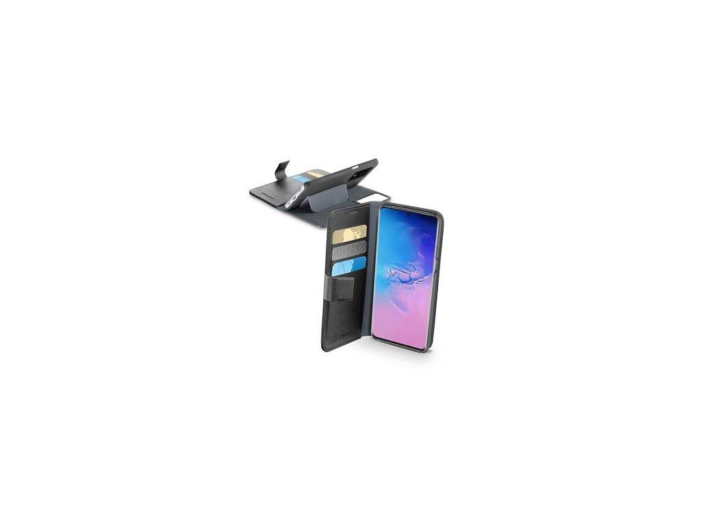 Samsung Galaxy S20 Ultra, pouzdro typu kniha Cellularline Book Agenda, černé