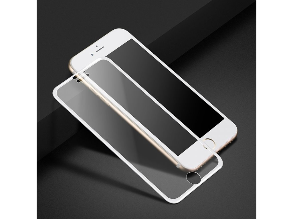 hoco a 11 narrow edges 3d full screen hd tempered glass iphone 6 6s plus white phone