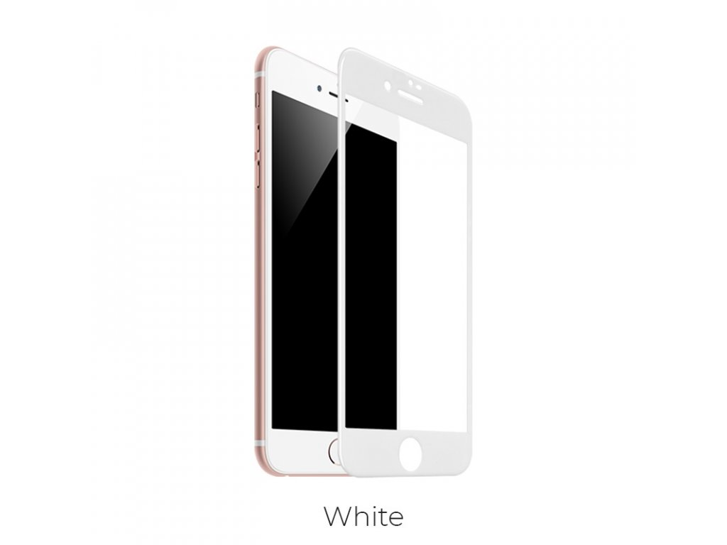 hoco ochranné sklo tempered glass g1 for iphone 7 8 plus bila
