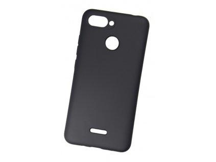 Pouzdro Redpoint Smart Magnetic Samsung J6+ Black, s kovovou destičkou