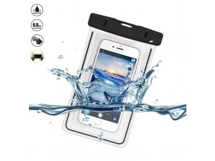 Devia Ranger Luminous Universal Waterproof Case for Smartphones 5 5inch Black 28062018 01 p