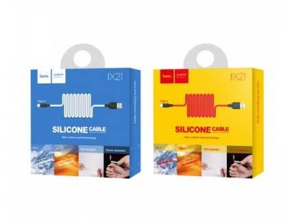 x21 silicone type c charging cable hoco malaysia 8 500x500