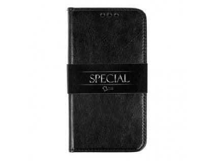 #Pouzdro Flip BOOK Special prava kuze cerna 1