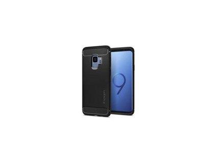 Spigen Rugged Armor Samsung Galaxy S9, matné černé