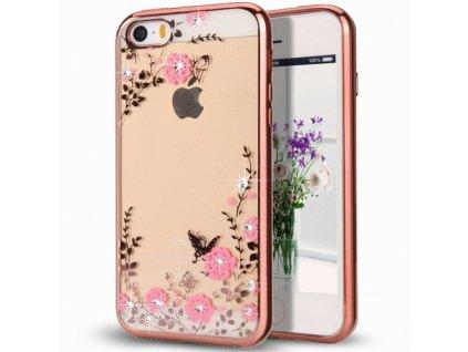 Bloomy stylové pouzdro Flower Cover Samsung Galaxy J5 2017 J530, růžové