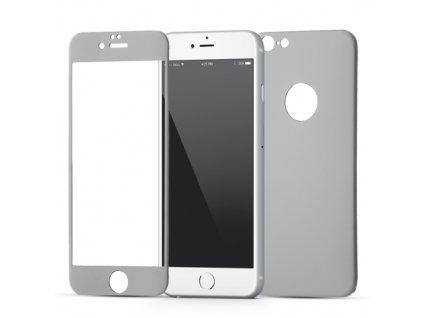 Wozinsky tvrzené sklo a hliníkový zadní kryt pro iPhone 6S / 6, černé