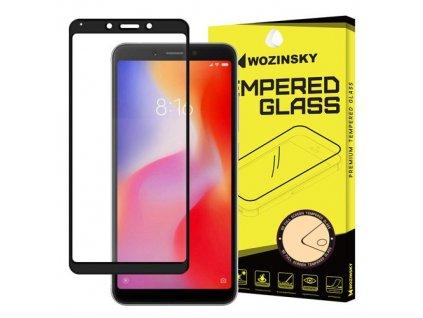 Wozinsky tvrzené sklo pro Xiaomi Redmi 6, černá