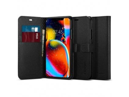 Spigen Wallet S pouzdro pro iPhone 11, black