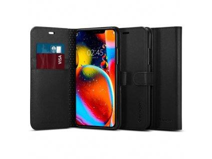 Spigen Wallet S pouzdro pro iPhone 11 Pro, black