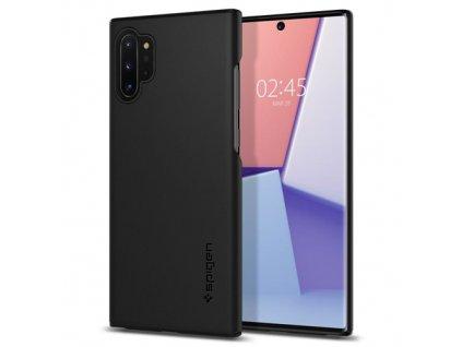 Samsung Galaxy Note 10 Plus, obal na mobil Spigen Thin Fit Black