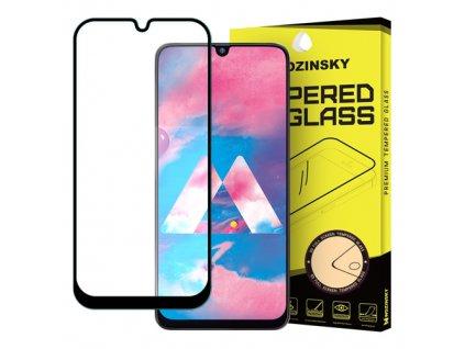 Wozinsky Full Glue tvrzené sklo Samsung M30, černé